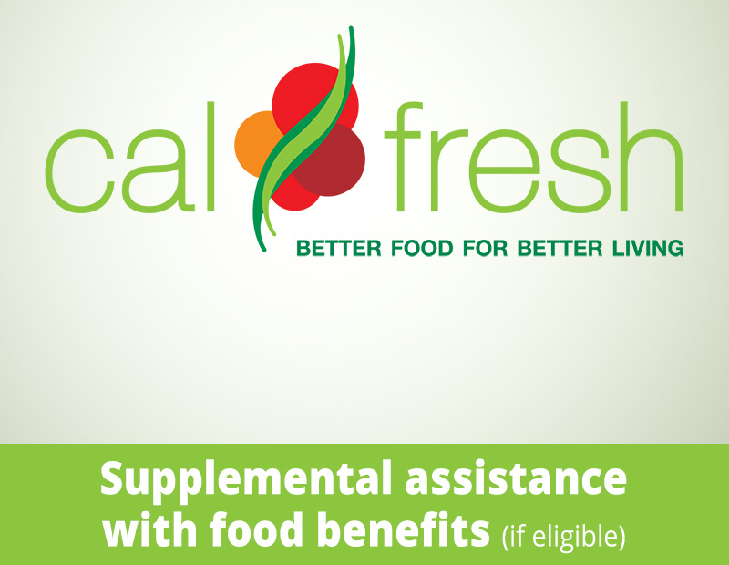 CalFresh logo - Supplemental Assistance with Food Benefits